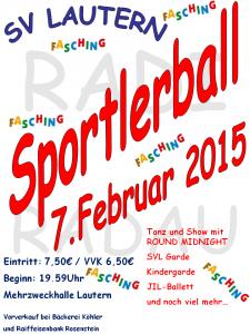 Plakat Sportlerball