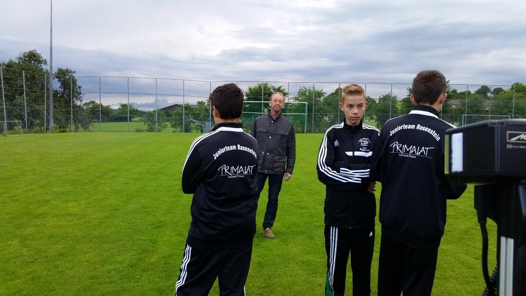 Unsere D-Junioren mit unserem Sponsor Thomas Schmid